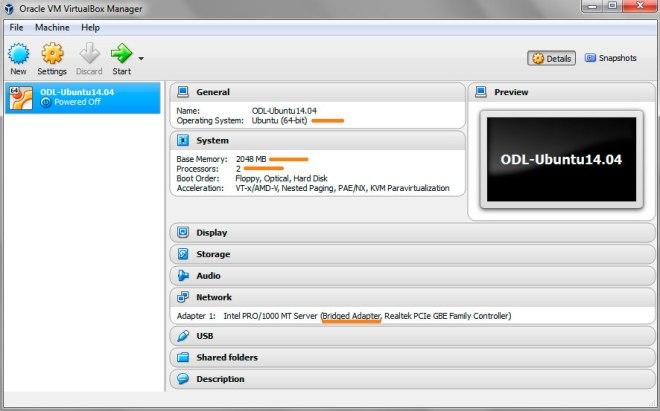 Ubuntu 14.04 Virtualbox